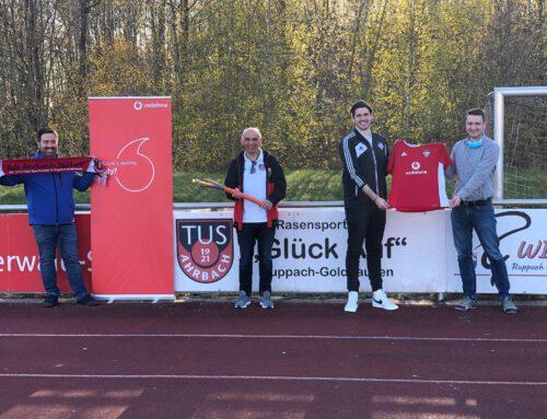 Vodafone unterstützt den TuS Ahrbach